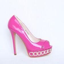 Plateau High Heels Pumps 37 Rosa Pink Damen Schuhe Stilettos Shoes 706-20 Neu