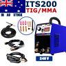 IGBT Welders Inverter 200A Stick/ARC/TIG 2IN1 Welding Machine  &TIG Consumable