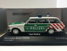 Minichamps 1/43 Mercedes-Benz E-Class 250TE SW (S123) Polizei 1976 Art.430032294