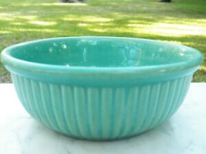 "Weller Pottery Fluted Blue Bowl 6.5"" diameter (since 1872)"