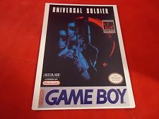Universal Soldier Nintendo Game Boy Vidpro Promotional Display Card ONLY