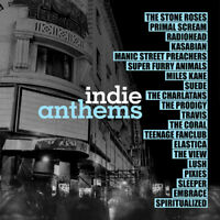 "Various Artists : Indie Anthems Vinyl 12"" Album 2 discs (2017) ***NEW***"