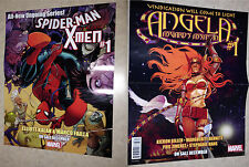 Spider-Man & the X-Men / Angela double sided poster/print