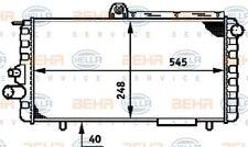 Radiator for ALFA 33 905 1.2 1.3 1.4 1.5 1.7 83->93 Manual 905A Petrol Behr