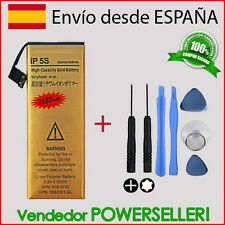 Bateria interna GOLD iPhone 5S + kit herramientas tools | Capacidad Original