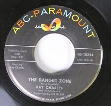 Northern Soul Popcorn 45 Ray Charles - The Danger Zone / Hit The Road Jack On Ab