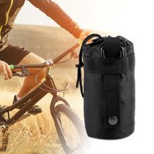 Outdoor Sports Water Bottle Bag Molle Shoulder Strap Kettle Pouch Holder Carrier