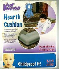 KidKusion Hearth Cushion Taupe 3 Pieces 8.3' Award Winning Cover Any Sharp Edge