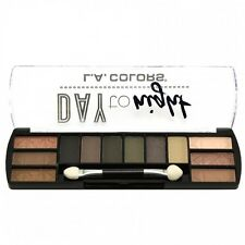 L.A. Colors Makeup Long Lasting Day to Night Eyeshadow Palette CES422 Sunrise
