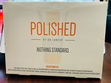 NEW ! / POLISHED BY DR. LANCER : NOTHING STANDARD : DELUXE TRAVEL KIT
