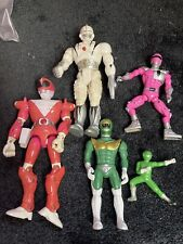 Power Rangers Knock Off Ko Bootleg Lot Figures