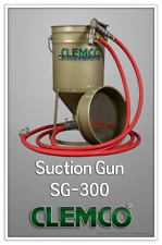 Powerful Suction Sandblaster, Portable Sandblasting Gun with Hopper, SG-300