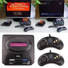16 Bite Retro Classic TV Video Game Console Gamepad EU Plug For SEGA Genesis