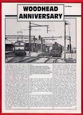 Rail Magazine Extract - Photo Feature - Woodhead Closure 10th Anniversary - 1991