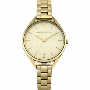 Karen Millen Gold Ladies Watch - KM162GM