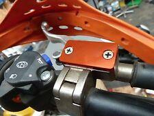 KTM 690 DUKE  RALLY  MAGURA CLUTCH FLUID MASTER CYLINDER RESERVOIR LIDS CAP B14E