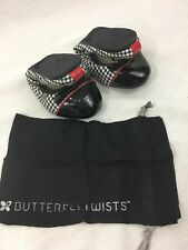 NEW Butterfly Twists Cara Dogtooth Flat Ballerina Womens 5 Shoes Slip On Ballet