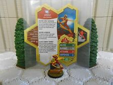Heroscape Custom Speedy Double Sided Card & Figure w/ Sleeve DC