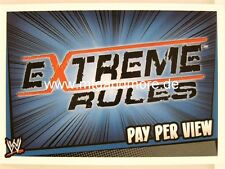 Slam Attax Rumble-Extreme Rules-Pay Per View