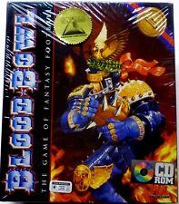 Warhammer Blood Bowl Game of Fantasy Football 1995 CD-ROM Games Workshop