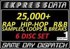 HIP-HOP/RAP/R&B SAMPLES,LOOPS & BREAKS SET-WAV, Studio, Producer, MIDI Music