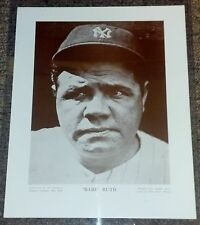 1910-57 Baseball Magazine Player Posters M114 Babe Ruth George Herman 18540