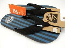 Reef Mens Original Stripes Blue Black 9