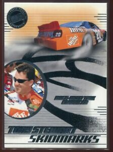 2003 Press Pass Eclipse Skidmarks 3 Tony Stewart Race-Used Tire