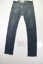 Lee Powell Slim Stretch (Cod. F1745) Tg46 W32 L36 jeans usato Vita Alta vintage