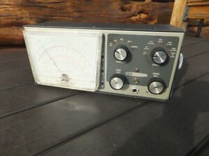 Vintage Heathkit Model IM-13 VTVM Vacuum Tube Voltmeter Tester - Issues