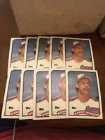 10 Card Lot 1989 Topps Randy Johnson Rookie Montreal Expos #647 Baseball Card