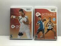 Nintendo Wii - Wii Active Personal Trainer + Personal Trainer 2 Bundle - Tested