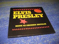 Elvis Presley Seine 42 Grossen Erfolge Original 1971 4 LP`s BOX Vinyl