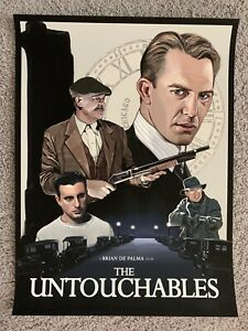 The Untouchables Giclee Print Movie Poster Roby Amor
