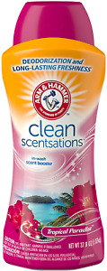 Arm & Hammer In-Wash Scent Booster, Tropical Paradise, 37.8 Ounce