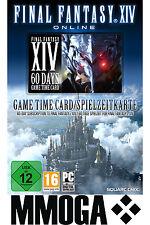 FF 14 - Final Fantasy XIV - A Realm Reborn Gamecard 60 Days/ 60 Tage Spielzeit