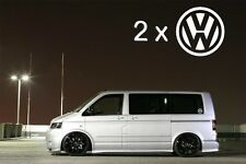 2 X Coche VW Ventana de logotipo Surf Vinilo Autoadhesivo Con Euro Jdm dubv Gracioso Jap Vw 4x4