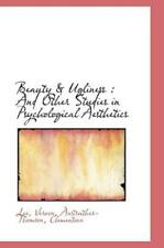 Beauty & Ugliness: And Other Studies In Psychological Aesthetics