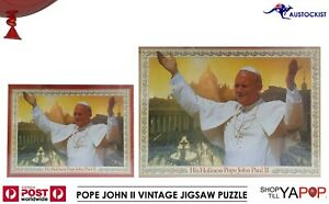 Pope John Paul II Vintage Jigsaw puzzle 1000 pieces late 1970's BNIB SEALED