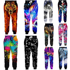 Joggers Pants Women/Men Funny Galaxy 3d Trousers Sweatpants New Pants Trousers