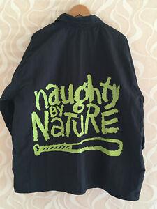 90er Naughty By Nature Jacke Windbreaker Rock Embassy Hip Hop 2Pac NWA Vintage