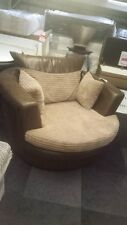 SOFA NEW CLEARANCE JUMBO CORD SWIVEL CHAIR (GET AN EXTRA 20% OFF)