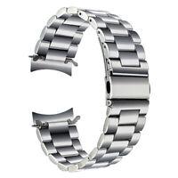 22mm Uhrenarmband passend für Samsung galaxy watch 46mm Edelstahl Rundanstoß