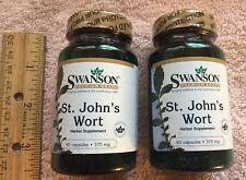 TWO, St. John's Wort,  from Swanson      120 capsules (total),  375 mg each