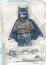RARE Batman Movie Minifigure Blue Cowl and Cape includes Weapons FREE SHIPPING