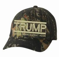 Make America Great Again Hat - Donald Trump 2020 Flex Fit 6999 Mossy Oak Hat