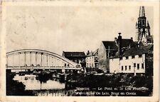 CPA Wervicq-Le Pont et la Lys Frontiére (423037)