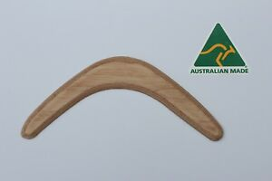 Australian Made Ply 29cm Sanded Blank Throwing Boomerang .Ready to Paint (qty 9)