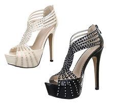 Markenlose Normale-Weite-(E) Damen-Sandalen & -Badeschuhe aus Kunstleder für Clubwear