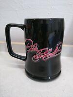 DALE EARNHARDT #3 RAISED SIGNATURE LETTERING BLACK 16 OZ COFFEE CUP MUG 2001